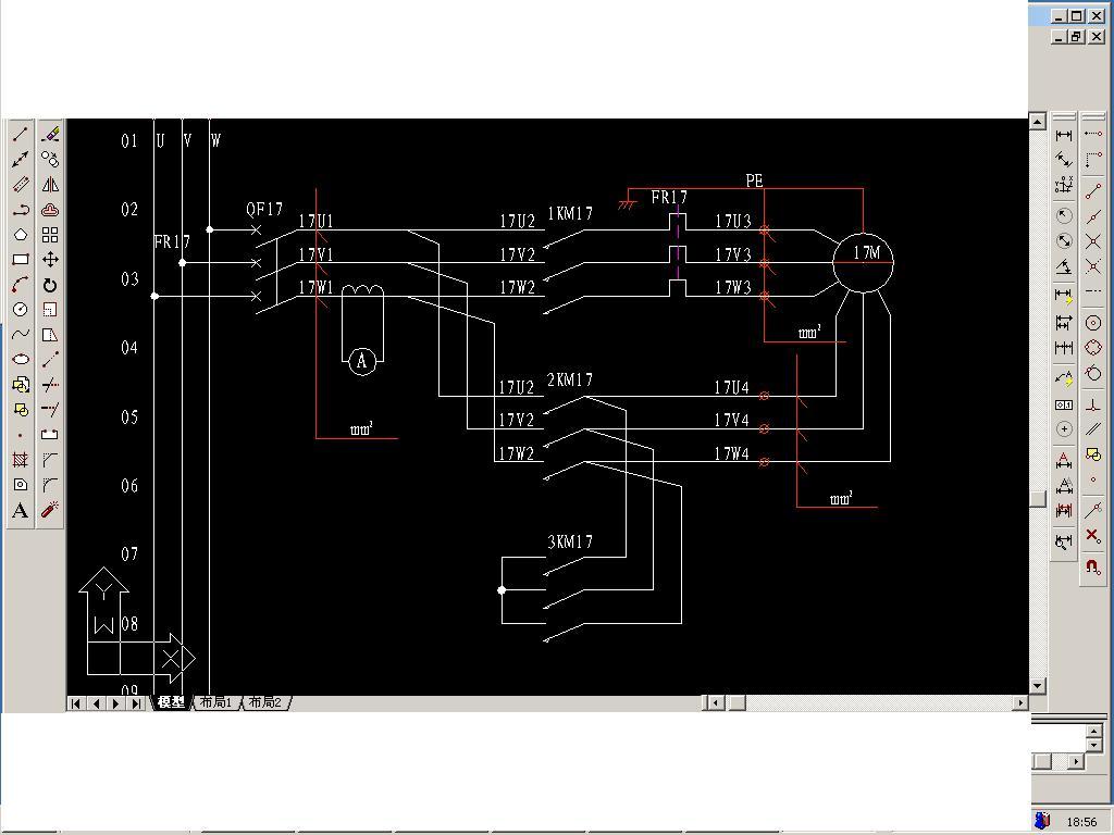 请教一个电机接线方法.