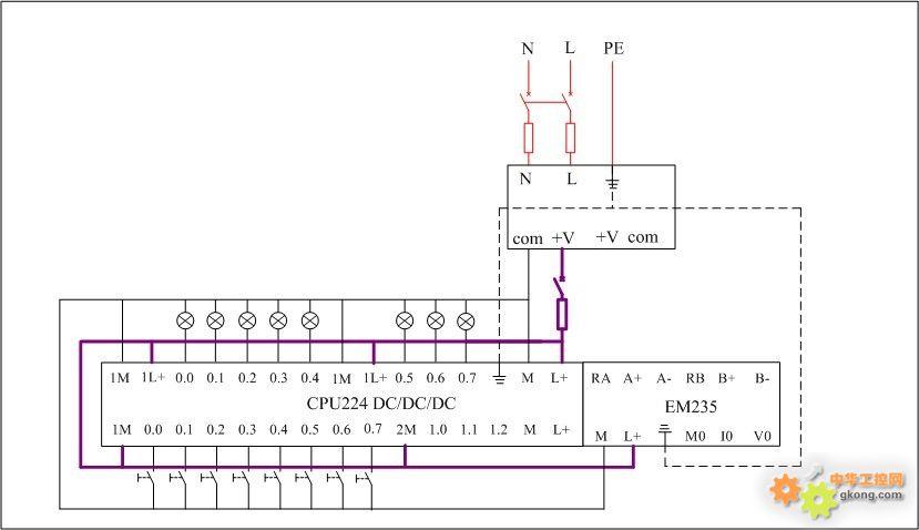 s7-200接线图