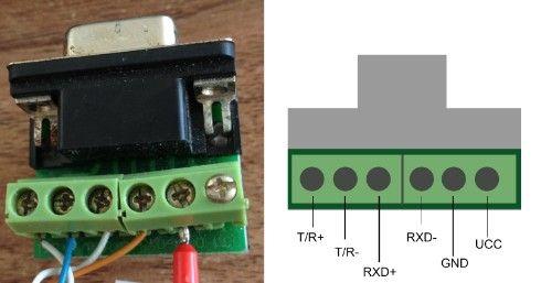 关于富士smart驱动器r485与电脑通信的接线问题