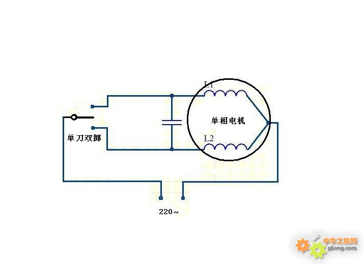 电工技术 → 浏览主题:  换了个电容后,风扇倒转了?