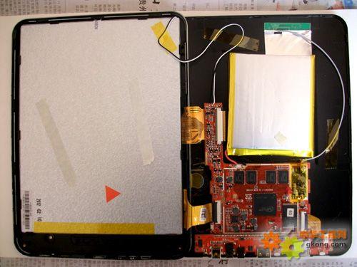 昂达平板电脑拆机图