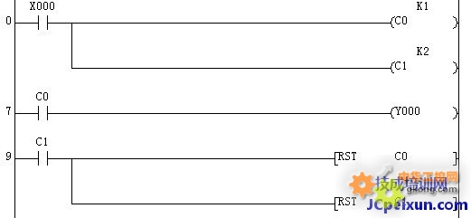 在这里,我们简单介绍一下在plc中实现单按钮控制启动 /停止的几种