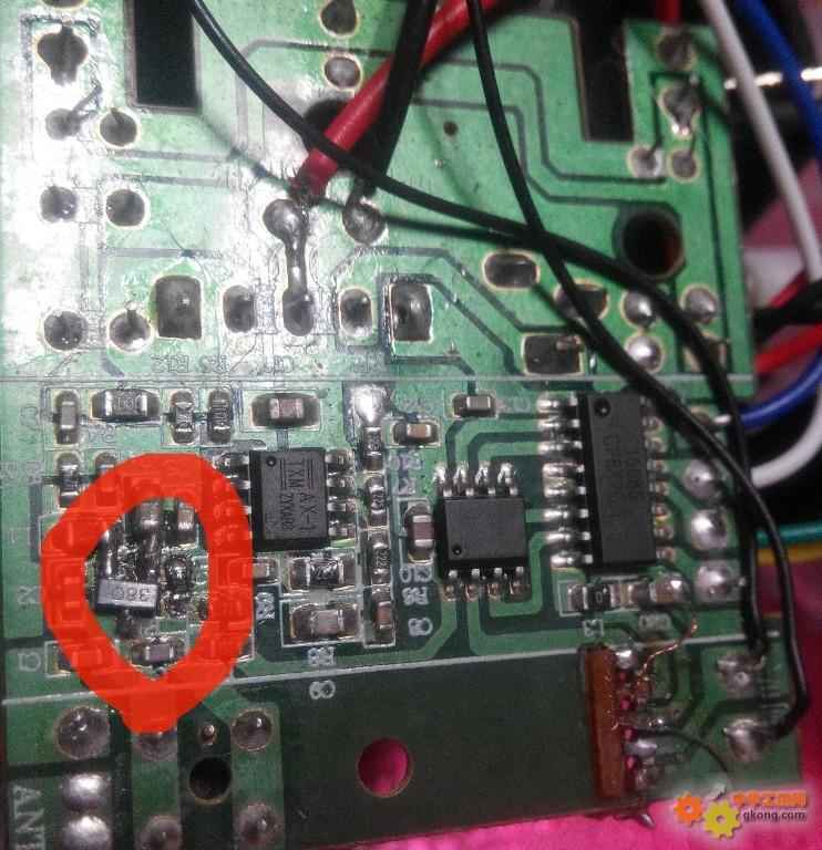遥控车电路板电路图ant