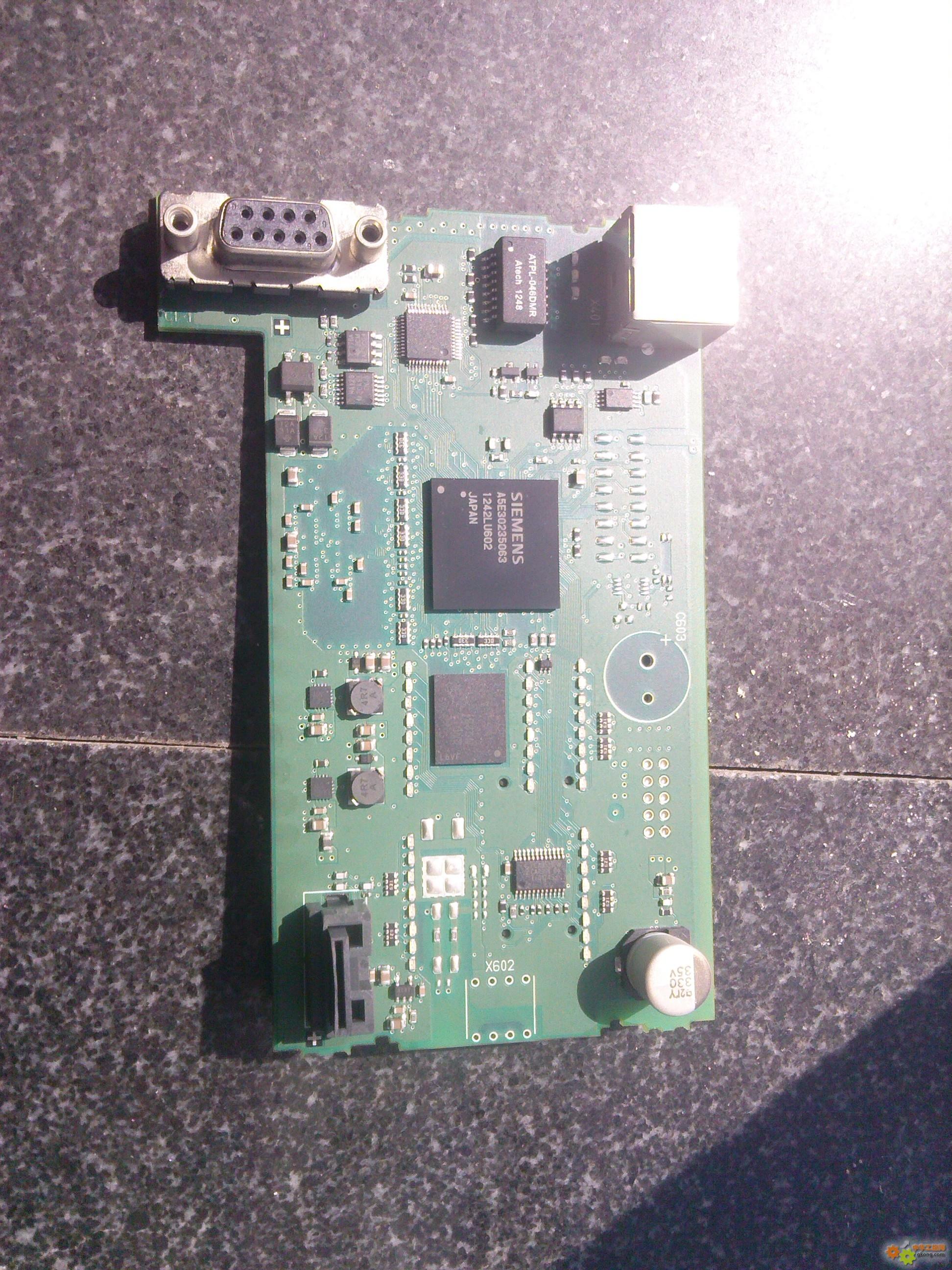 西门子smart200线路板图片