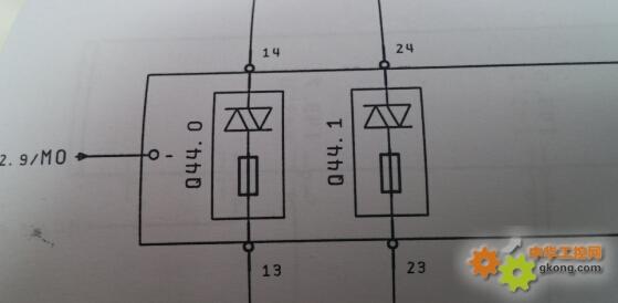问一下数字直流输出模块的接线问题
