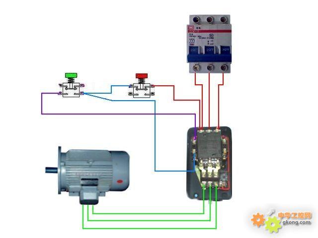制电路实物接线图