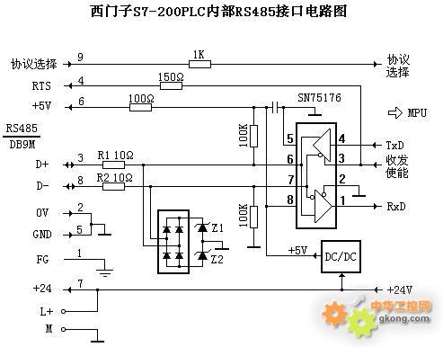 当d 或d-线上有共模干扰电压灌入时,由桥式整流电路和z1,z2可将共模
