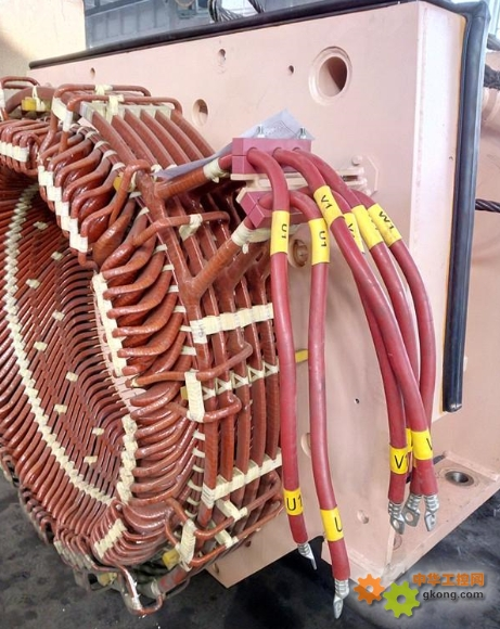 10kv电动机定子绕组接线