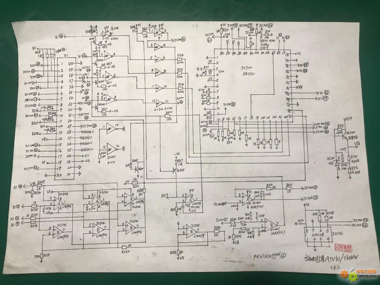 施耐德61电路图纸