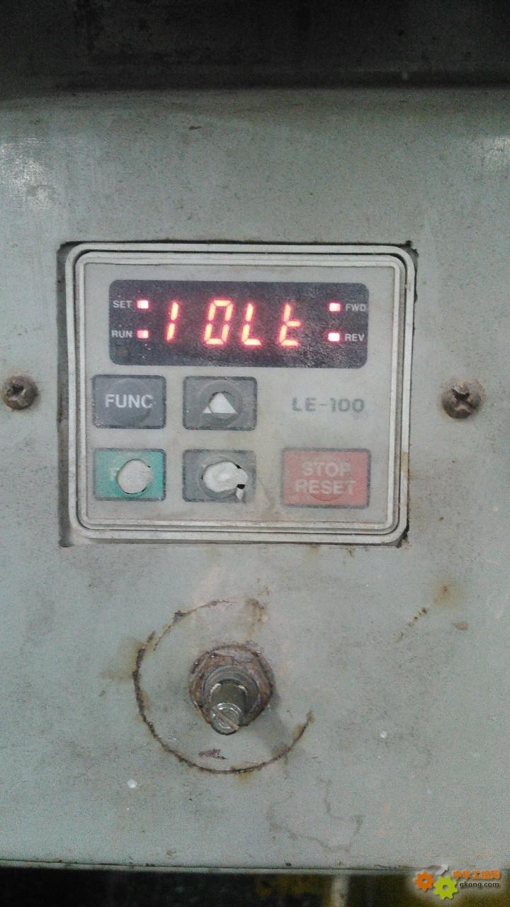 ig5变频器oc故障维修