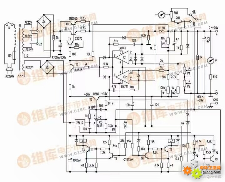 电路图原理求助 - 变频器维修 中华工控网 工控论坛