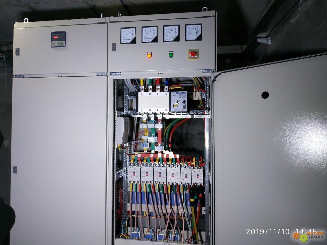 这个控制柜布置得咋样?