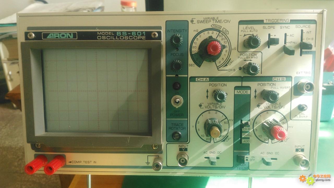 淘得一台日本安罗示波器