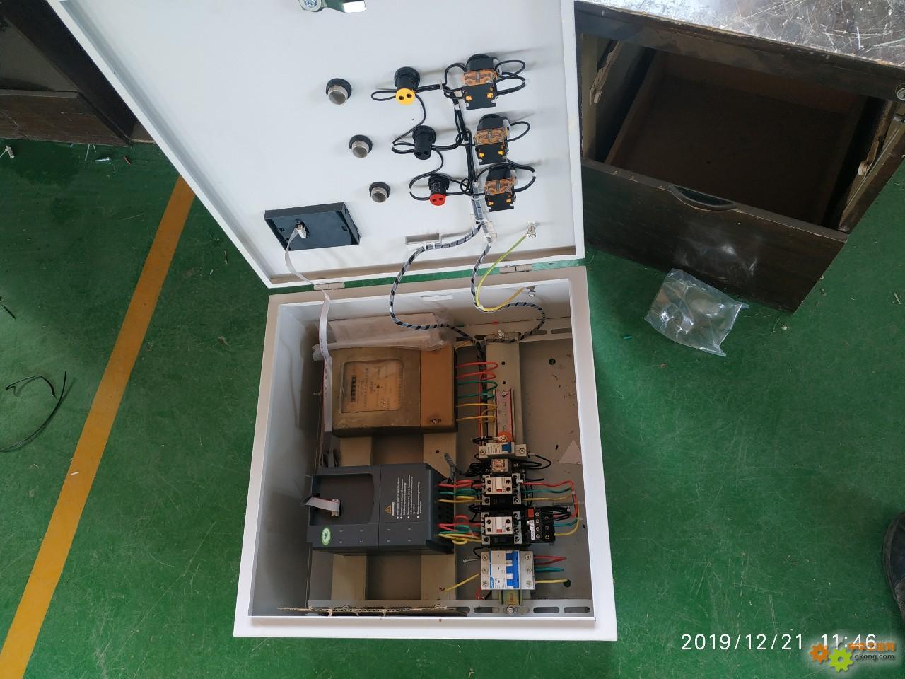 动手做了个变频箱