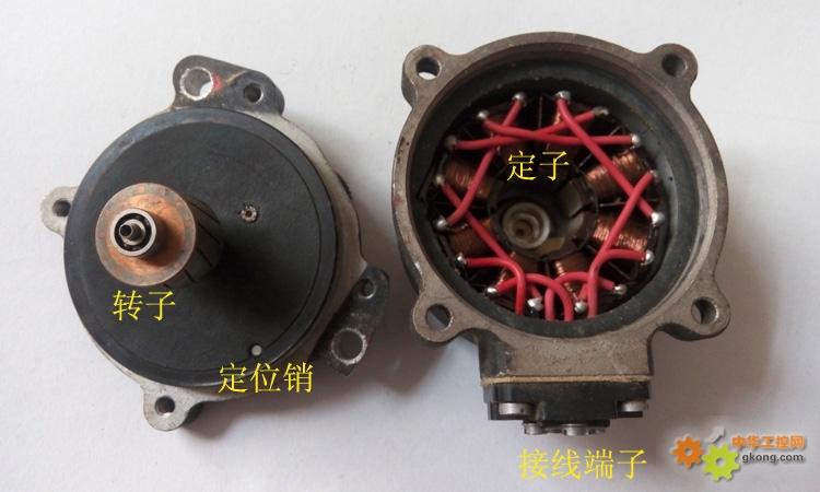 有点年代的微减速电动机