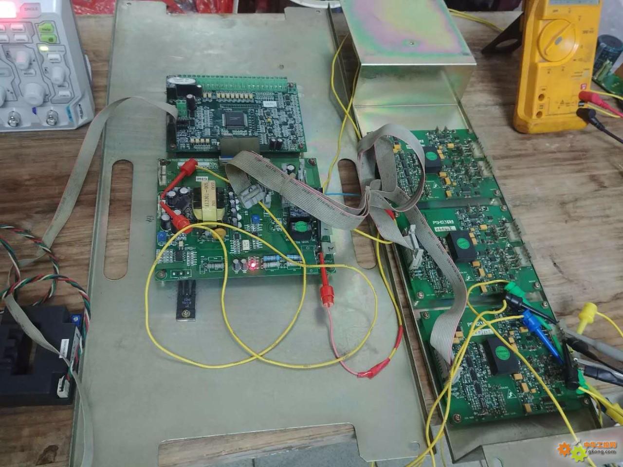 160KW日业变频器维修实例