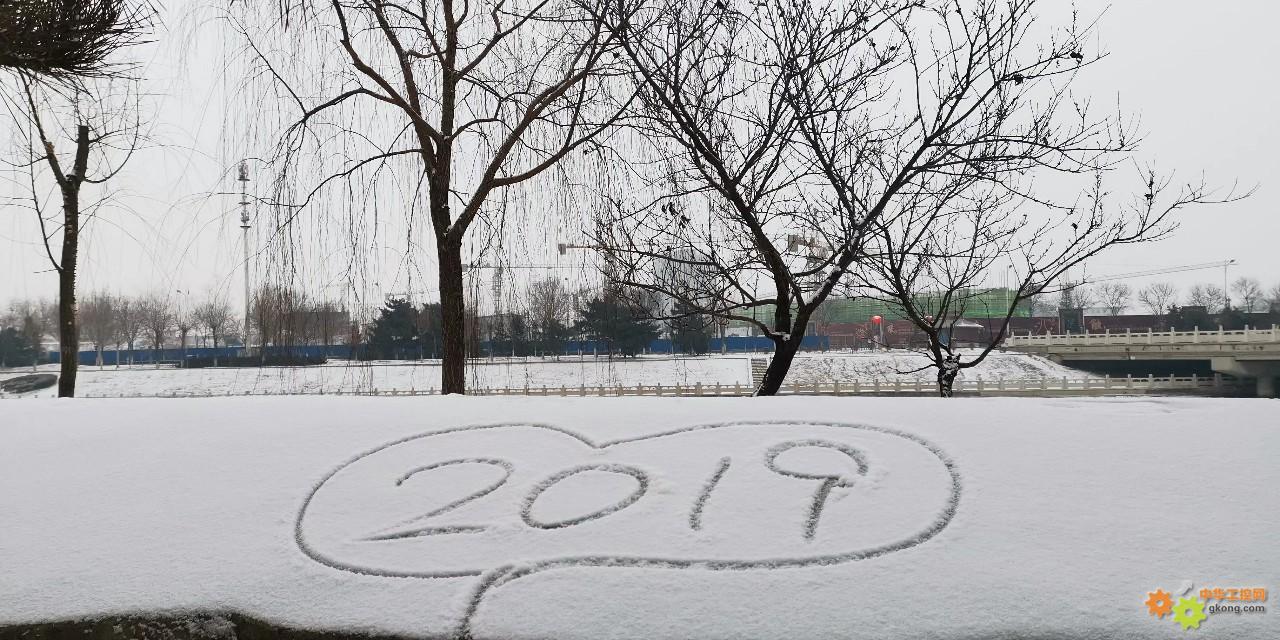 终于把雪盼来了