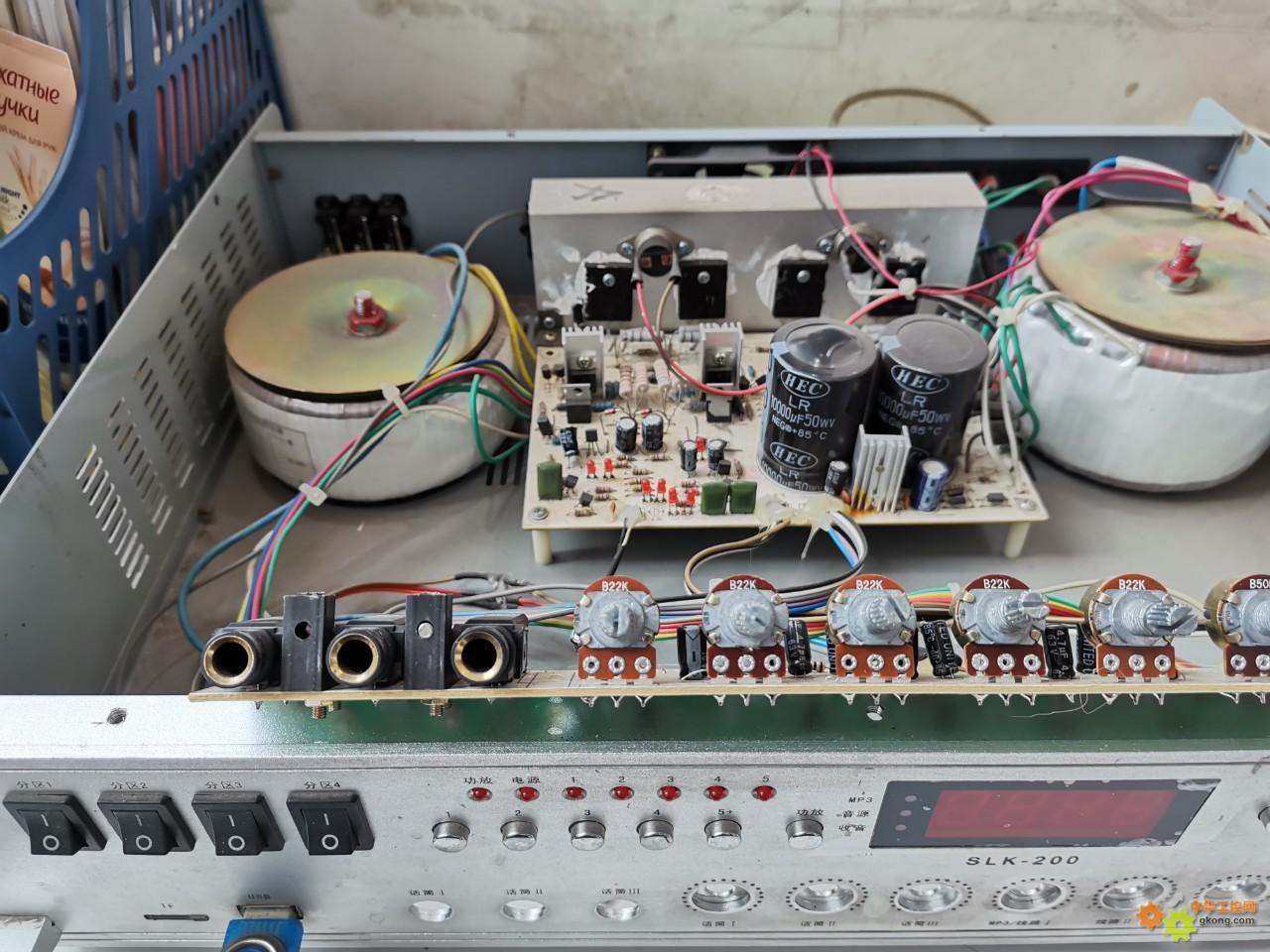尝试修公司的扩音机