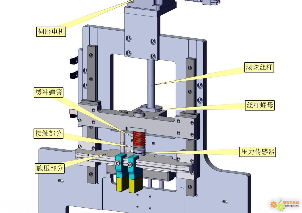 CP1H用压力传感器控制伺服电机
