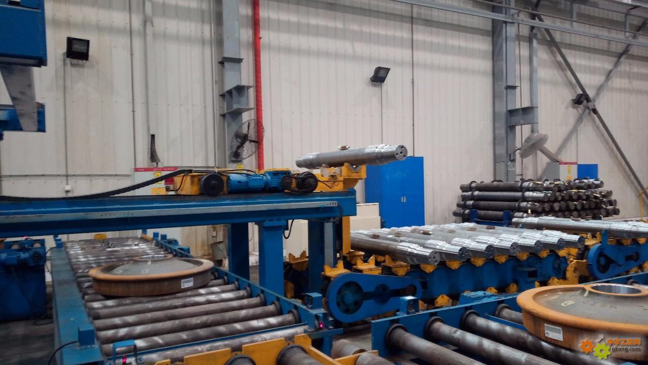 火车轮对生产过程