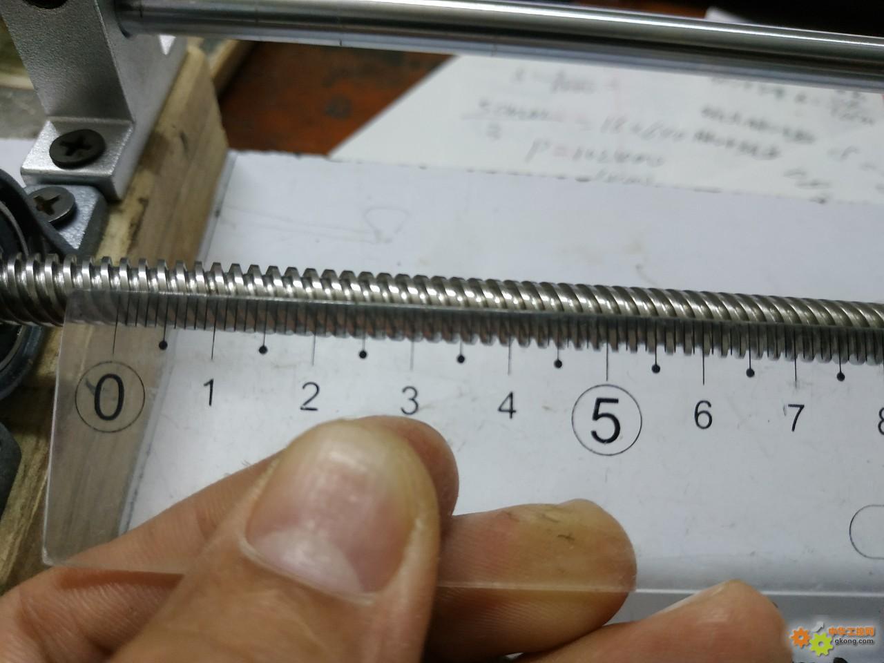 步进电机丝杆定位脉冲数和频率的计算