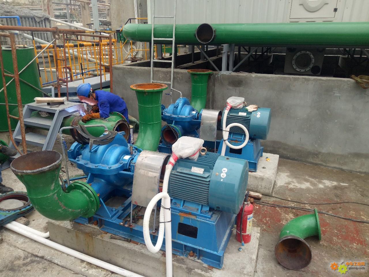 这两台泵为什么要返工?