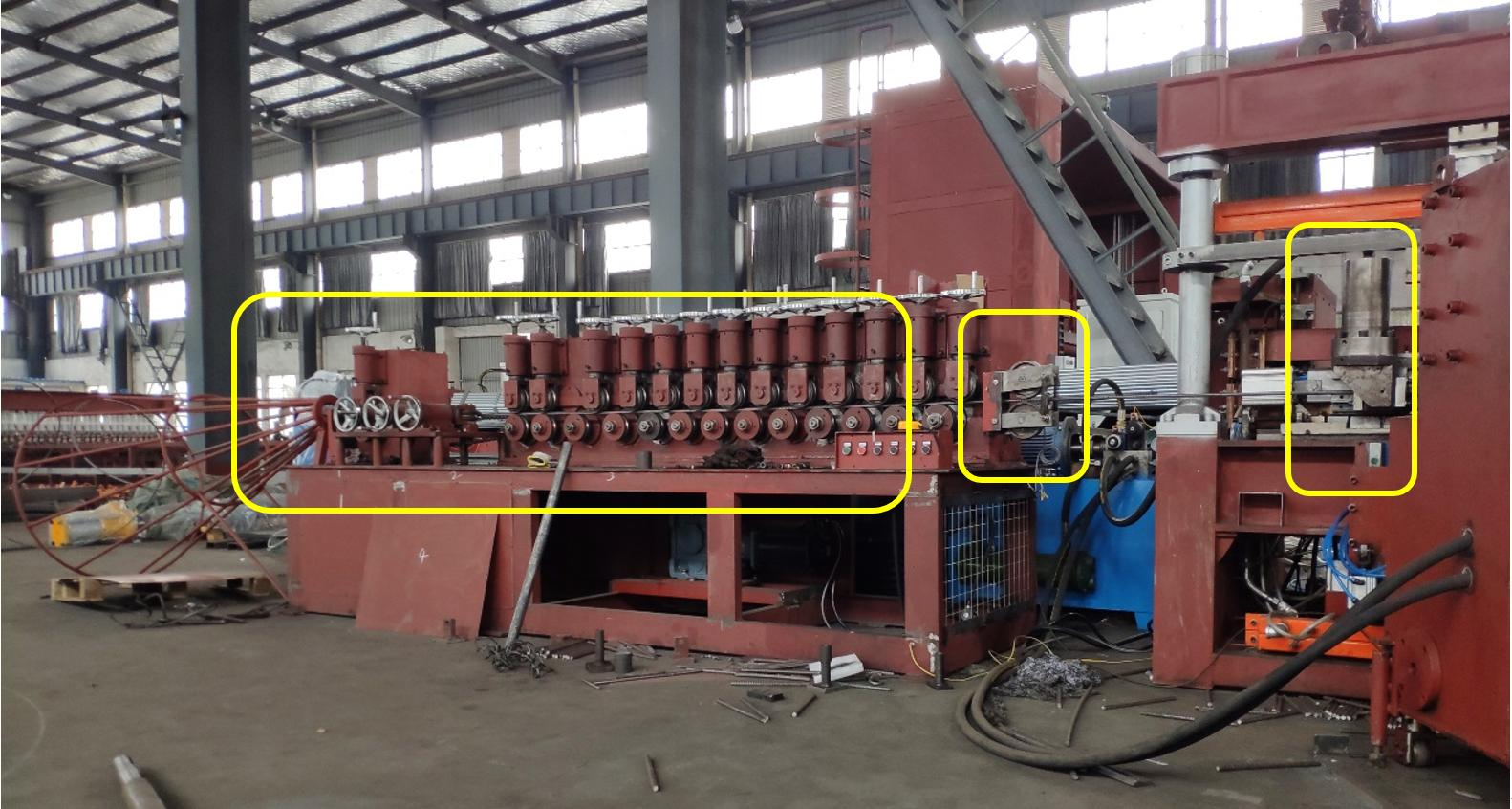 圆弧焊网机定长切断精度问题总结
