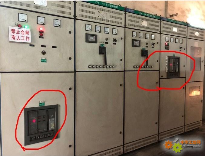 低压三相短路,跨5级跳户外高压断路器