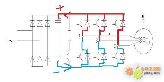 变频器减速时电机会处于发电状态?