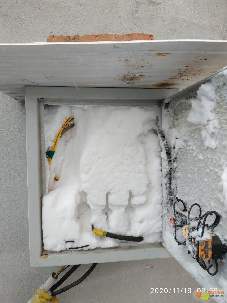2020年的第一场雪