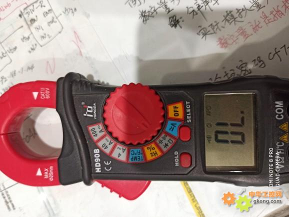 钳形表的蜂鸣档测量
