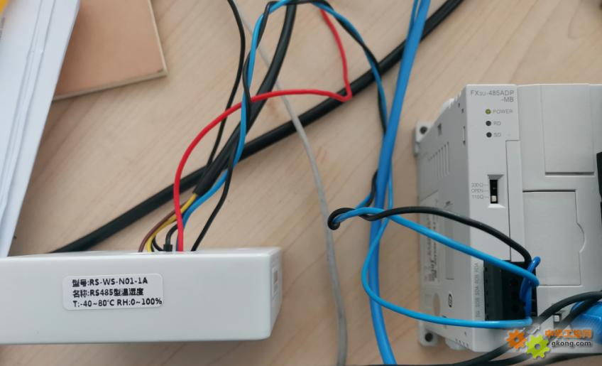 Fx3u和温湿度传感器通信不了