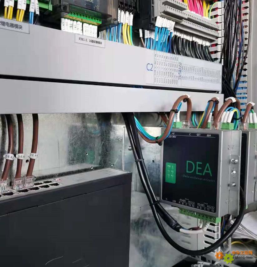 三菱PLC以DEA通讯模块为中心传输架构