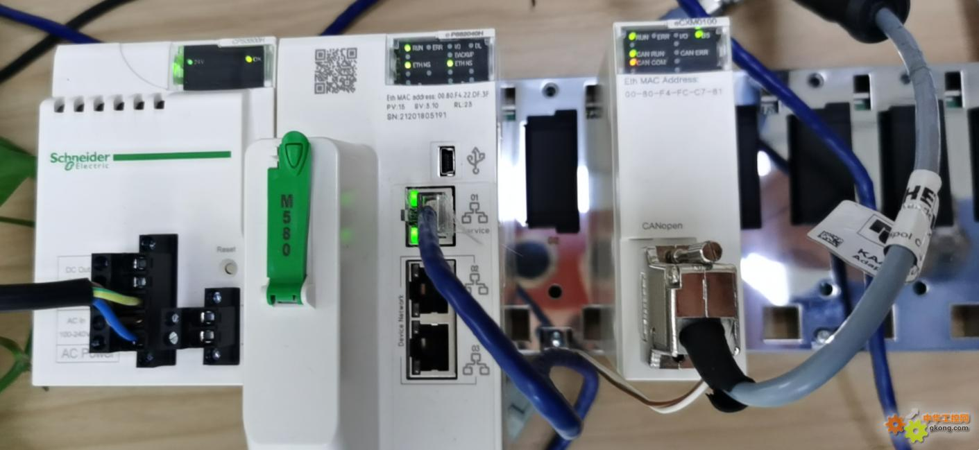 施耐德M580 通过 CANopen 主站模块 BMECXM0100 与 WDGA CANopen 编码器通信的配置及使用
