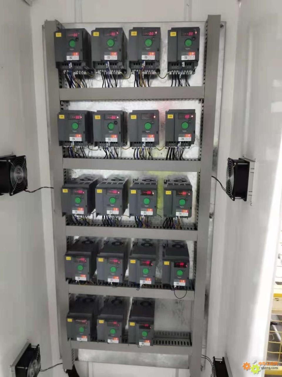 施耐德变频器19台