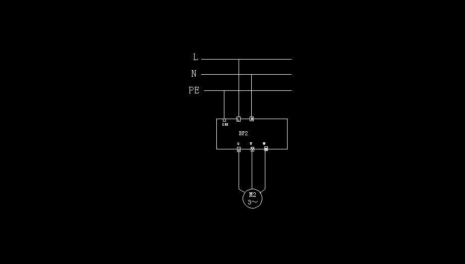 220V的交流电机想用变频器控制,但不敢确定接线
