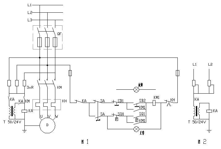水塔水位控制plc图
