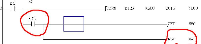 三菱延时电路图