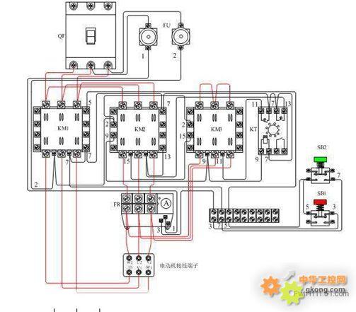 星角电机接线图解