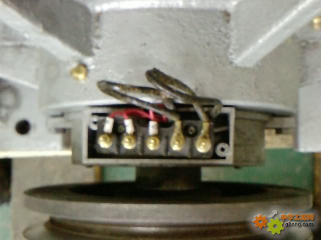 请教一个关于电磁调速点击的接线问题 - 电工技