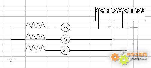 三相四线电表,电流互感器,电流表的问题