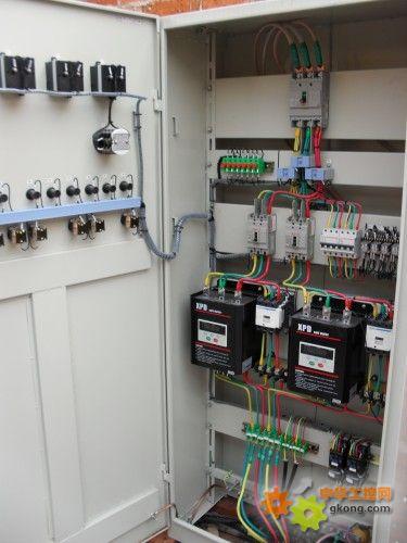 xpd电动机软启动器控制柜 结构图片