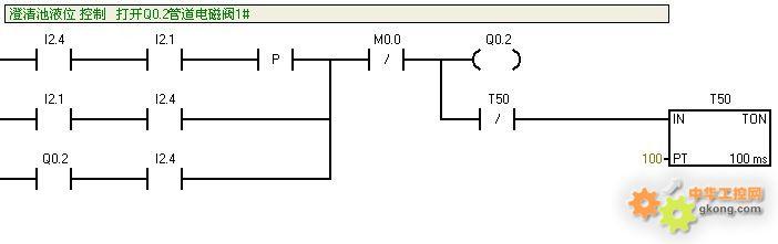 求教!有关梯形图转换成指令表的