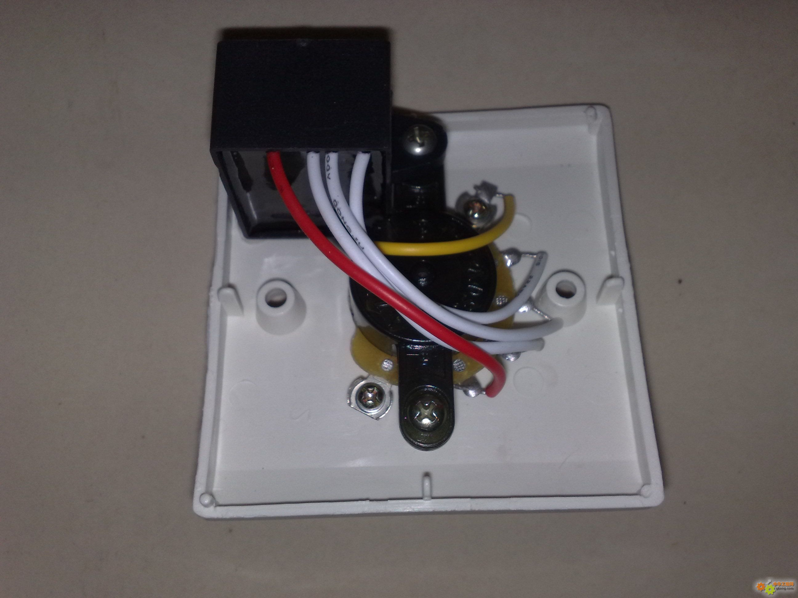 吊扇电容接线图解