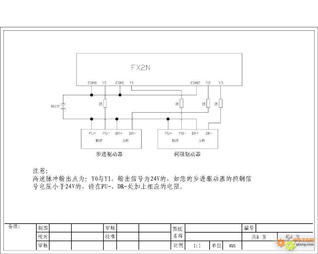 用三菱plc怎么做《两相混合式步进电机的控制》