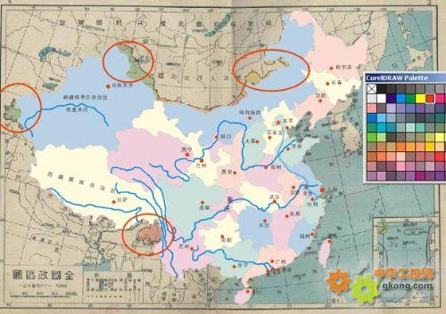 我国的陆地土地面积约是多少平方千米?