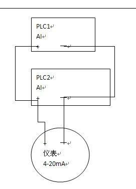 求助:关于plc与仪表的接线问题?