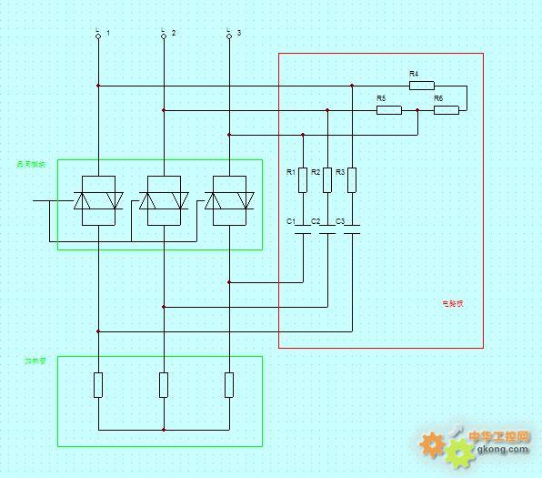 请教:关于晶闸控制模块外部电路