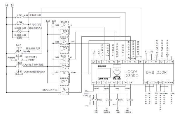 Схема автоматического ввода резерва на микроконтроллере