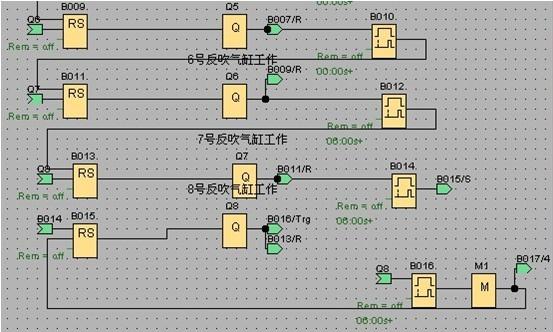 4个继电器循环吸气电路图
